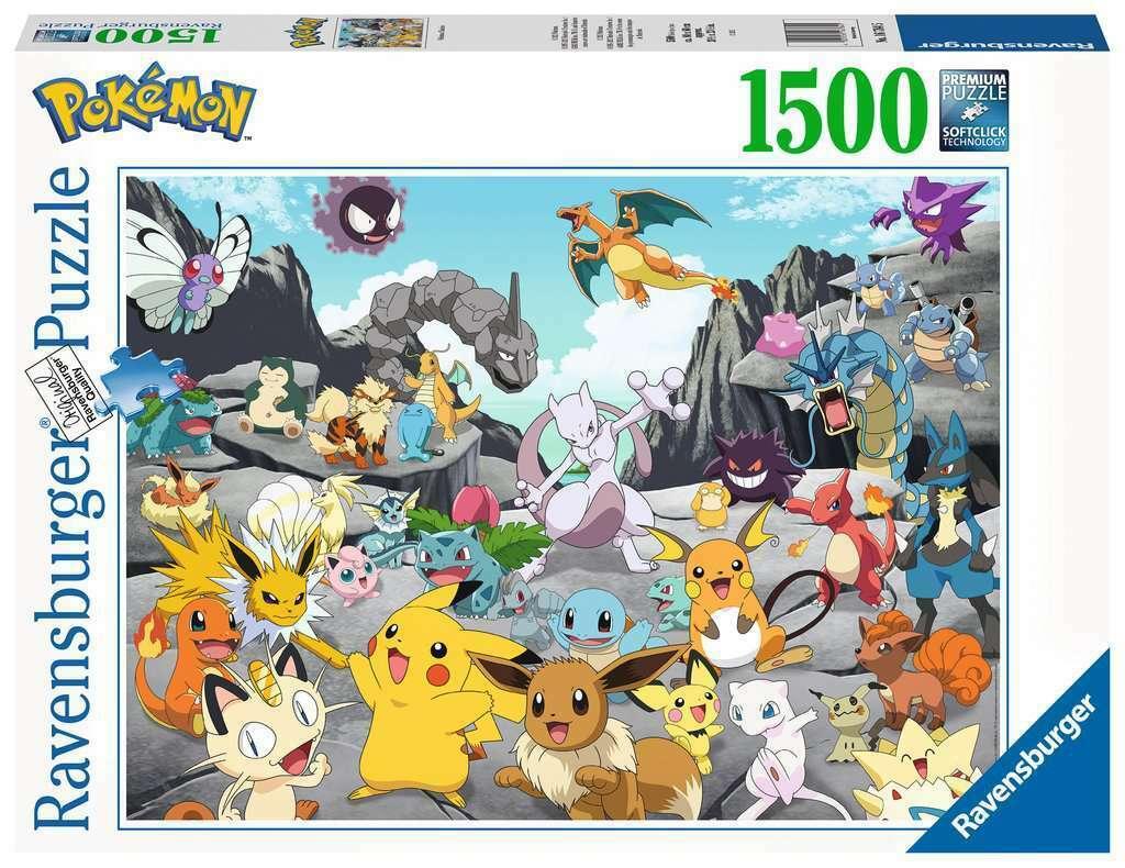 Puzzle Ravensburger Pokemon Classics de 1500 Piezas