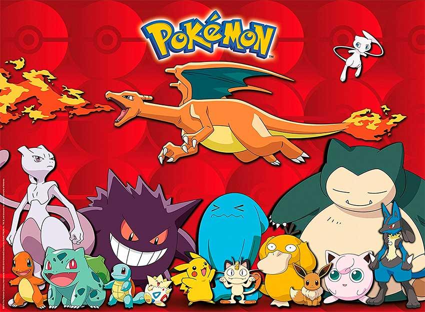 Puzzle Ravensburger Pokemon XXL de 100 Piezas
