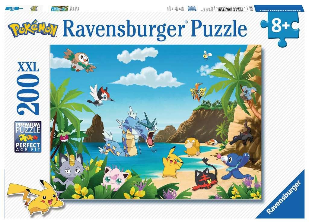 Puzzle Ravensburger Pokemon XXL de 200 Piezas