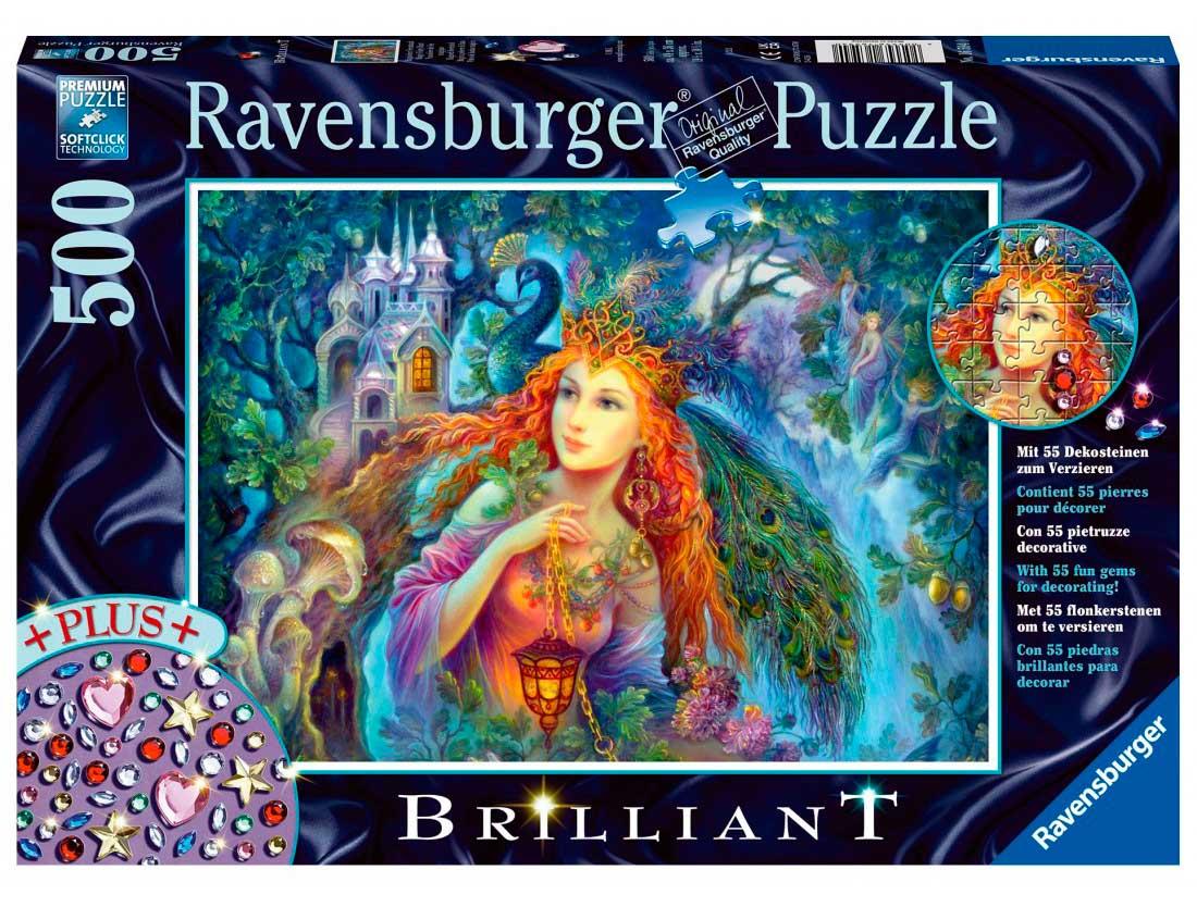 Puzzle Ravensburger Polvo de Hadas Mágico de 500 Piezas