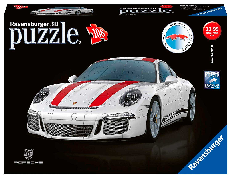 Puzzle Ravensburger Porsche 911 3D 108 Piezas