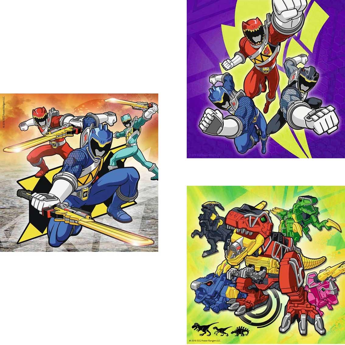 Puzzle Ravensburger Power Rangers 3 x 49 Piezas