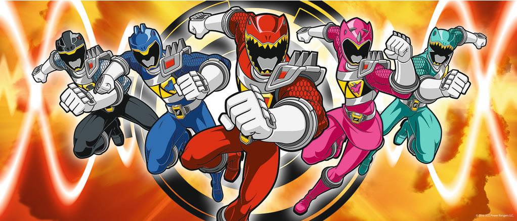 Puzzle Ravensburger Power Rangers de 200 Piezas