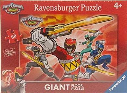 Puzzle Ravensburger Power Rangers XXL 60 Piezas