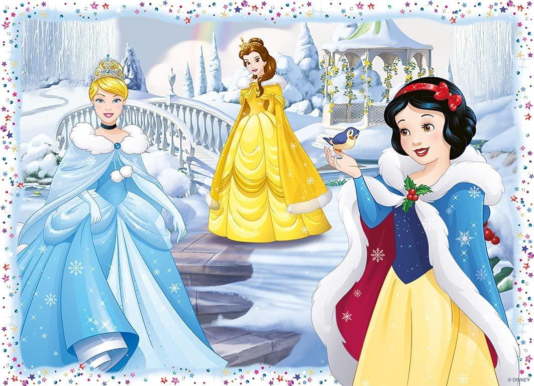 Puzzle Ravensburger Princesas Disney 4 x 100 Piezas