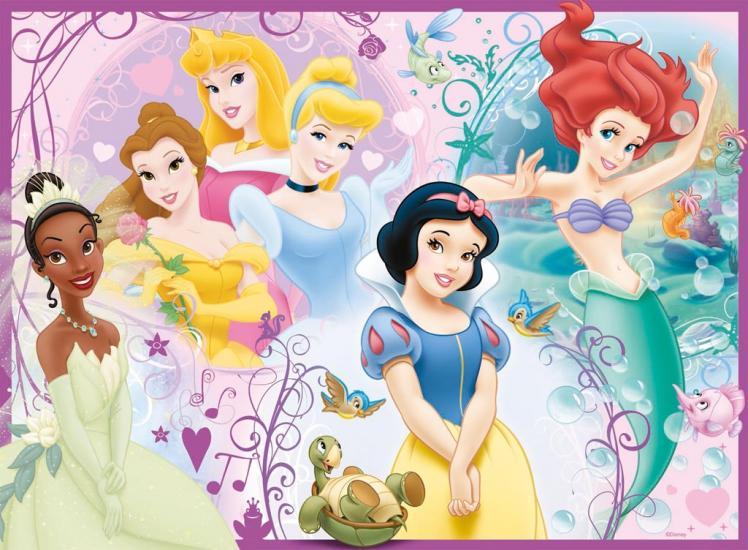 Puzzle Ravensburger Princesas Disney de 100 Piezas