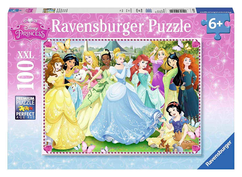 Puzzle Ravensburger Princesas Disney XXL de 100 Piezas