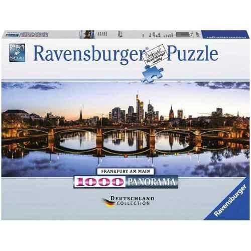 Puzzle Ravensburger Puente de Frankfurt de 1000 Piezas