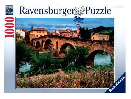 Puzzle Ravensburger Puente la Reina, España de 1000 Piezas