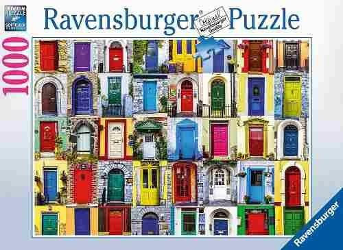 Puzzle Ravensburger Puertas del Mundo de 1000 Piezas