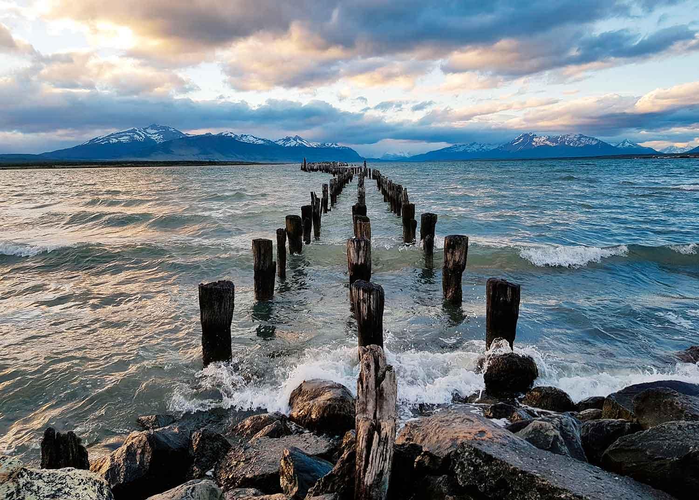 Puzzle Ravensburger Puerto Natales, Chile de 1000 Piezas