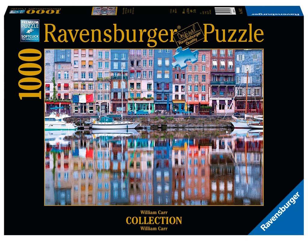 Puzzle Ravensburger Reflejo de Honefleur de 1000 Piezas
