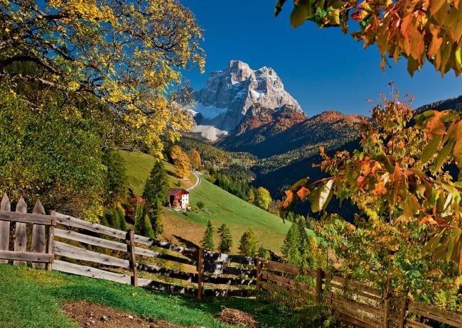 Puzzle Ravensburger Refugio de Montaña de 1000 Piezas