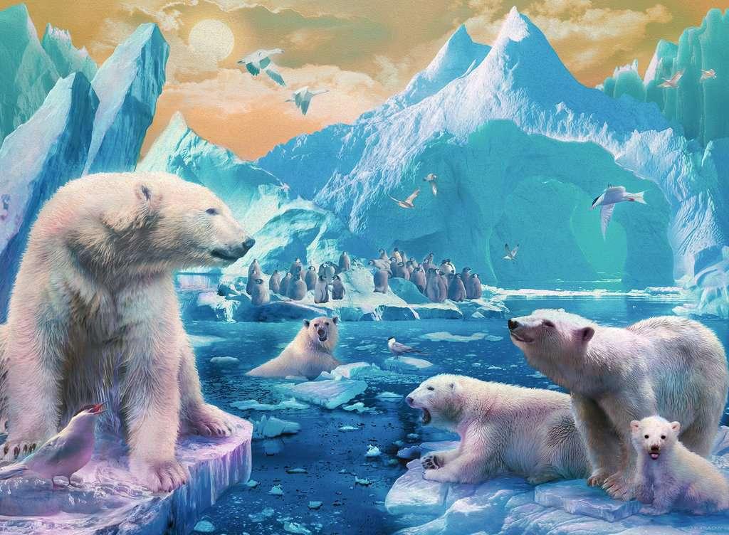 Puzzle Ravensburger Reino del Oso Polar XXL 300 Piezas