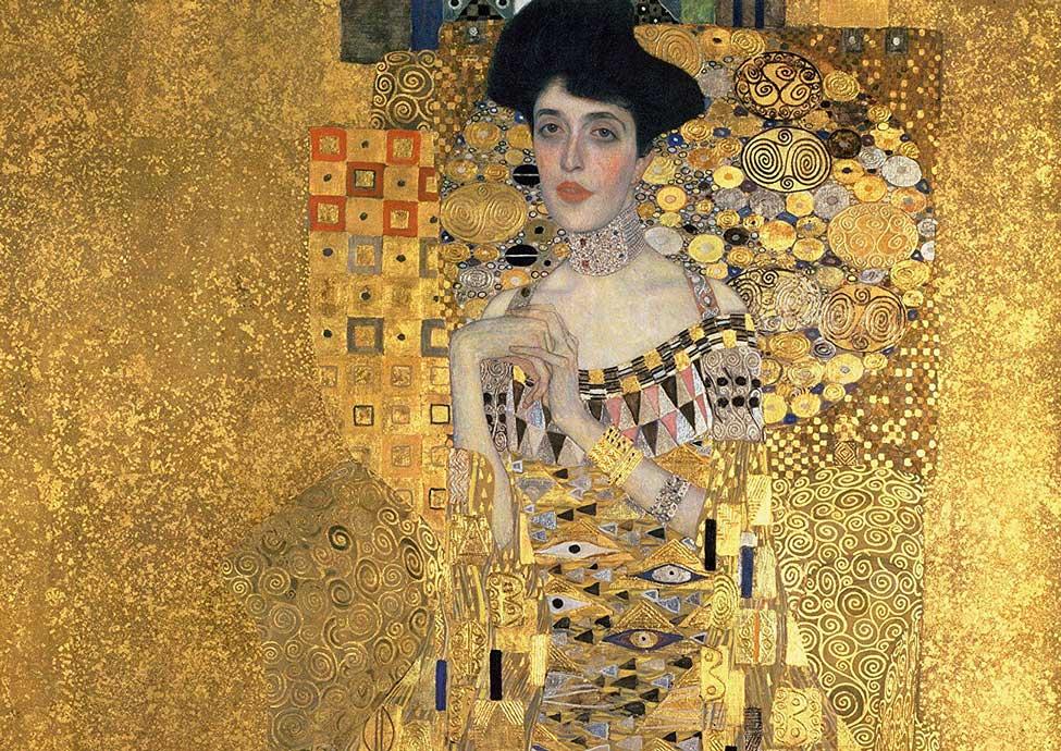 Puzzle Ravensburger Retrato de Adele (Detalles Dorados) 1200 Pza