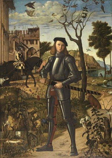 Puzzle Ravensburger Retrato de Caballero de 1000 Piezas