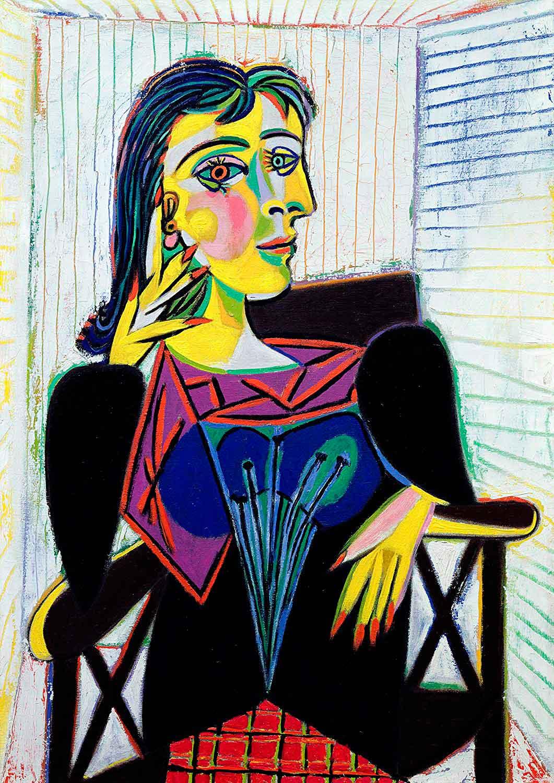 Puzzle Ravensburger Retrato de Dora Maar de 1000 Piezas
