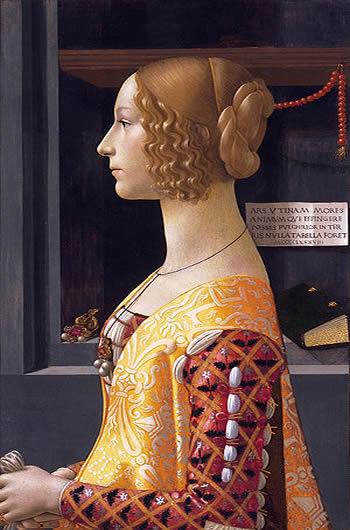 Puzzle Ravensburger Retrato de Giovanna Tornabuoni de 1000 Pieza