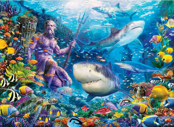 Puzzle Ravensburger Rey del Mar de 500 Piezas