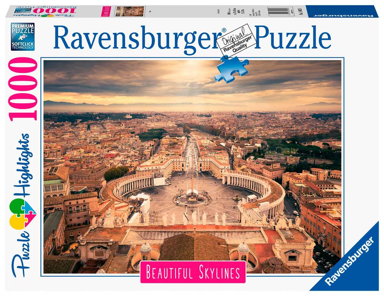 Puzzle Ravensburger Roma de 1000 Piezas