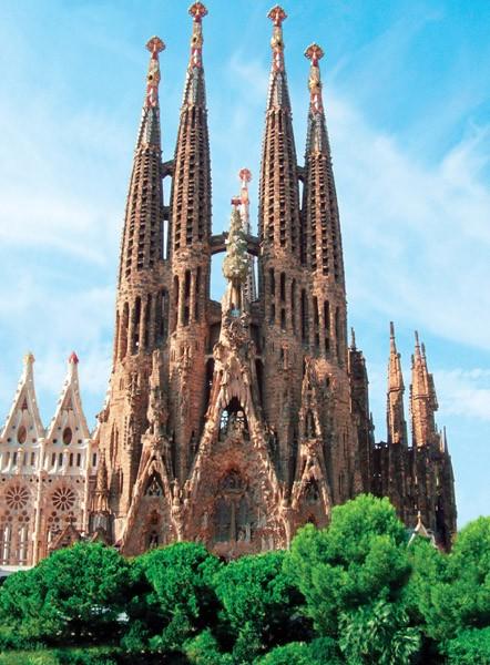 Puzzle Ravensburger Sagrada Familia, Barcelona de 300 Piezas