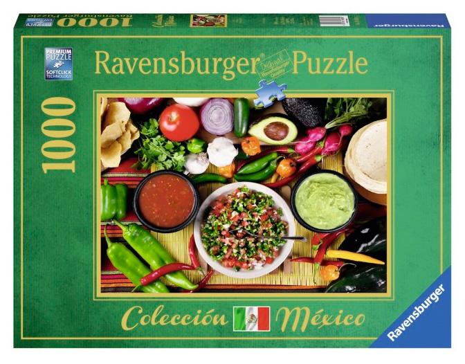 Puzzle Ravensburger Salsa Picante de 1000 Piezas