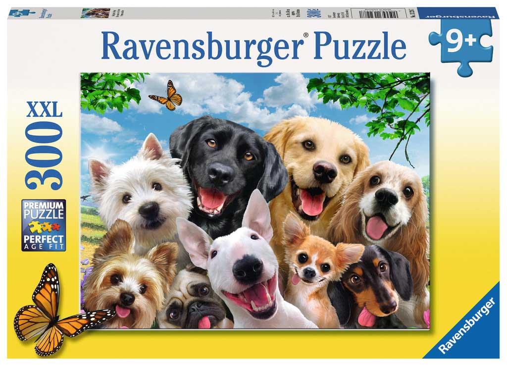 Puzzle Ravensburger Selfie de Perros 300 Piezas