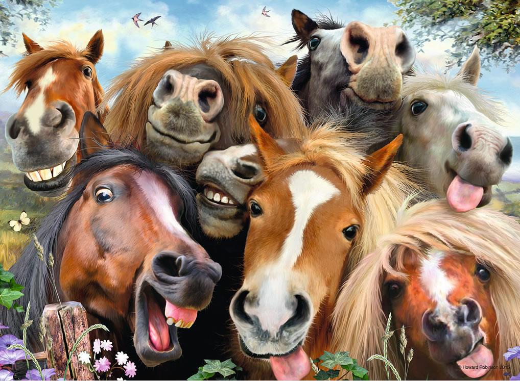 Puzzle Ravensburger Selfies en la Granja 500Piezas