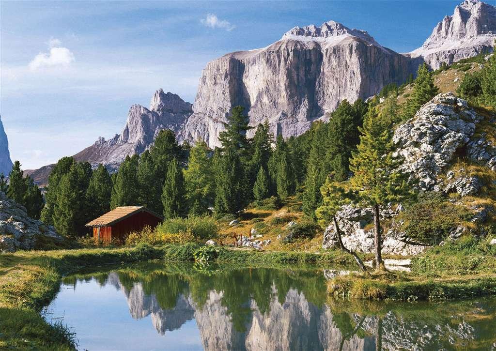 Puzzle Ravensburger Sellajoch, Dolomitas de 1500 Piezas