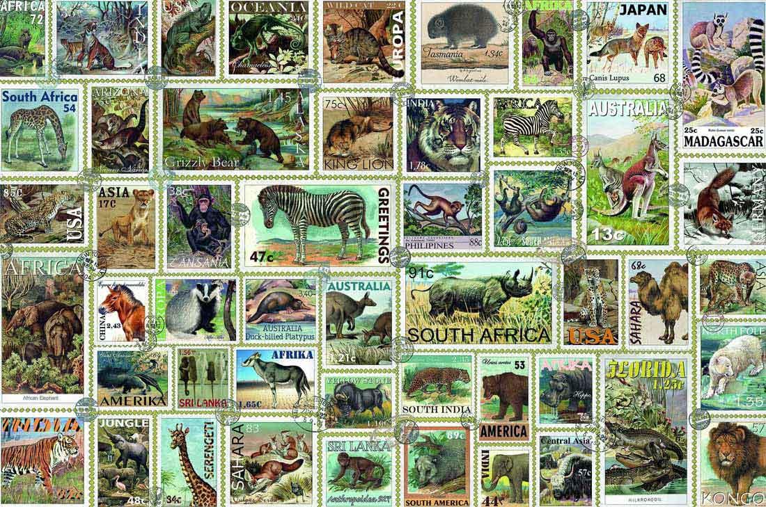 Puzzle Ravensburger Sellos de Animales de 3000 Piezas
