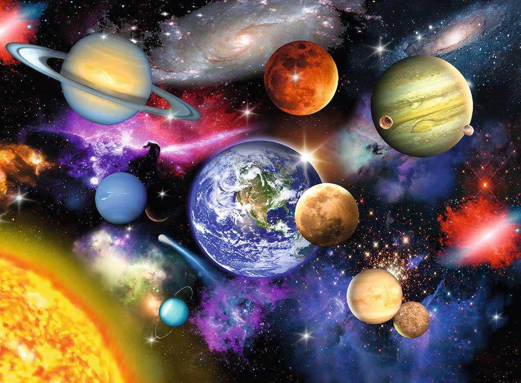 Puzzle Ravensburger Sistema Solar XXL 300 Piezas