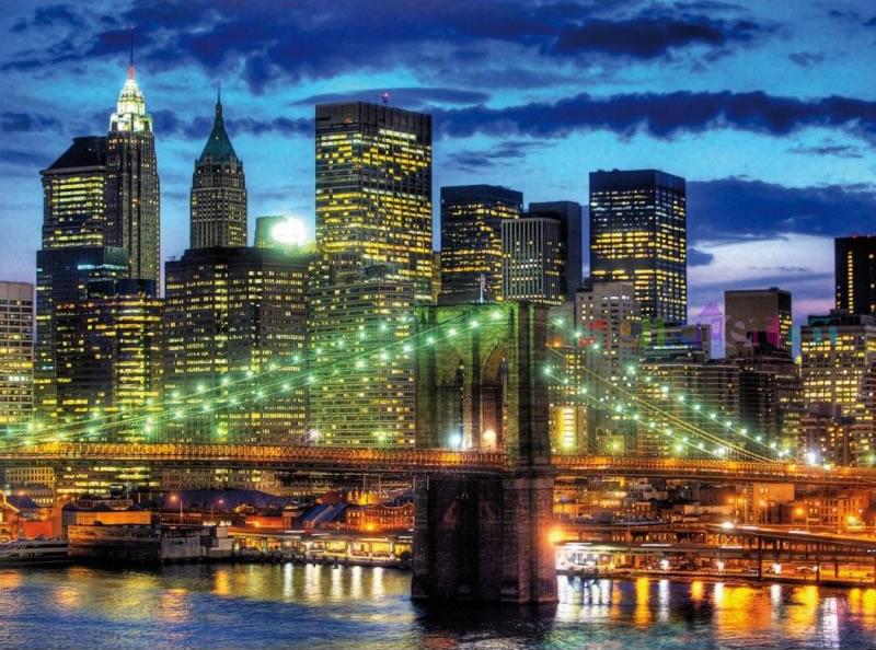 Puzzle Ravensburger Skyline de Nueva York de 1500 Piezas