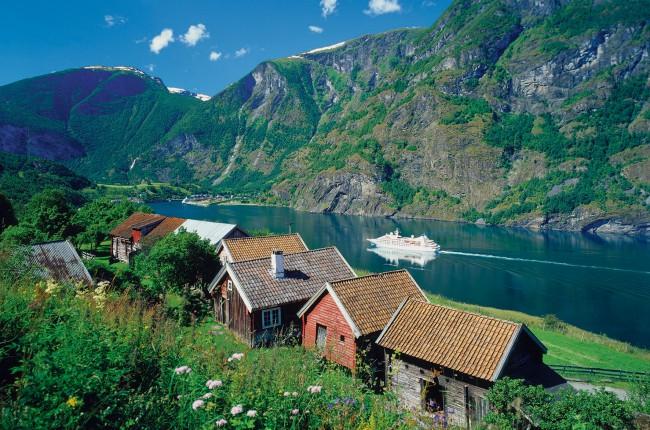 Puzzle Ravensburger Sognefjord, Noruega de 3000 Piezas