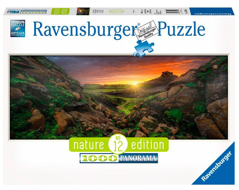 Puzzle Ravensburger Sol sobre Islandia de 1000 Piezas