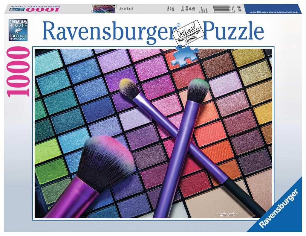 Puzzle Ravensburger Sombras de Ojo de 1000 Piezas