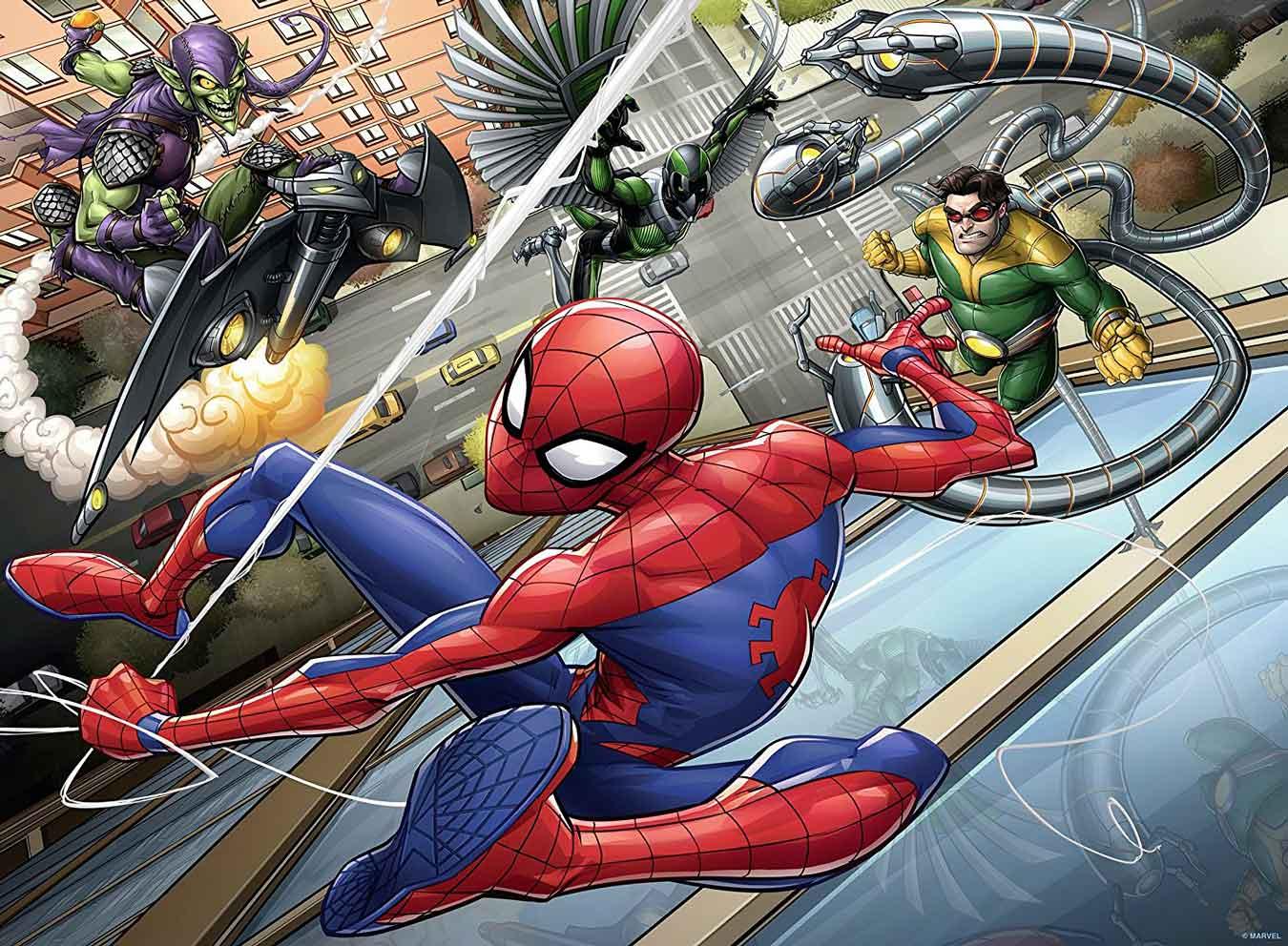 Puzzle Ravensburger Spiderman XXL de 200 Piezas