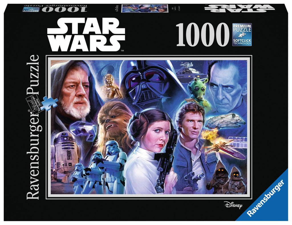 Puzzle Ravensburger Star Wars Una Nueva Esperanza, 1000 Piezas