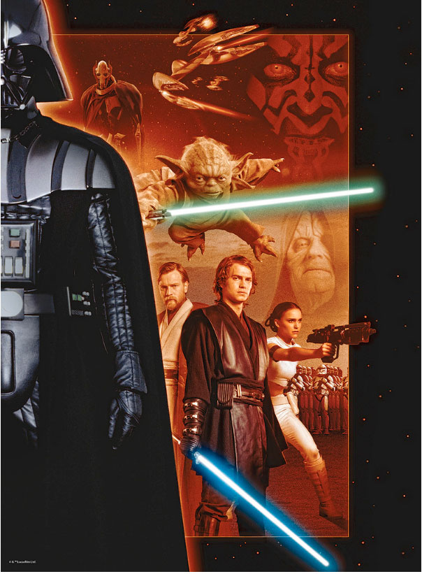 Puzzle Ravensburger Star Wars 500 Piezas