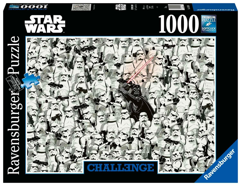 Puzzle Ravensburger Star Wars Challenge de 1000 Piezas