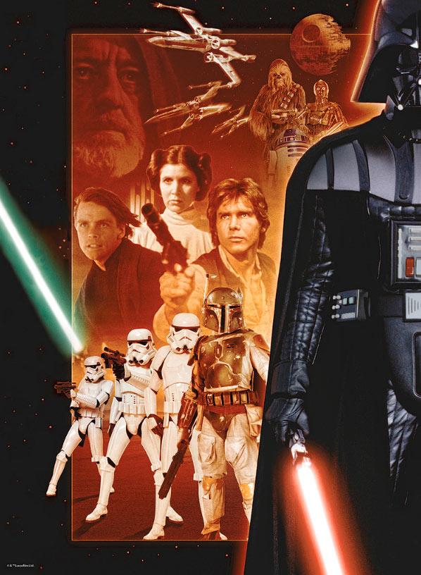 Puzzle Ravensburger Star Wars Clásico 500 Piezas