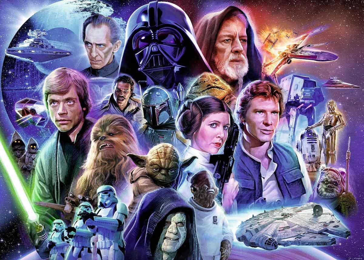Puzzle Ravensburger Star Wars Clásicos de 1000 Piezas