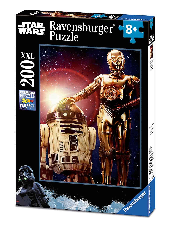 Puzzle Ravensburger Star Wars Droides XXL de 200 Piezas