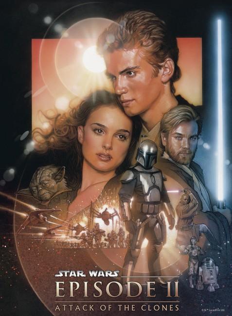 Puzzle Ravensburger Star Wars, El Ataque de los Clones de 500 Pi