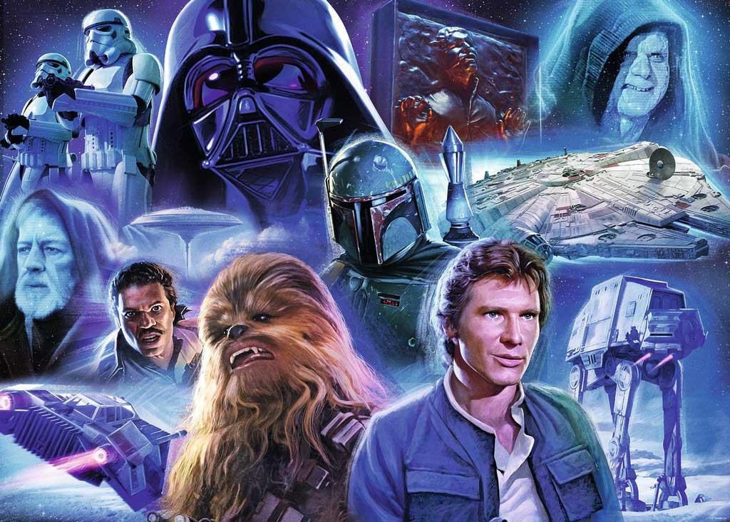 Puzzle Ravensburger Star Wars El Imperio Contraataca, 1000 Pzs