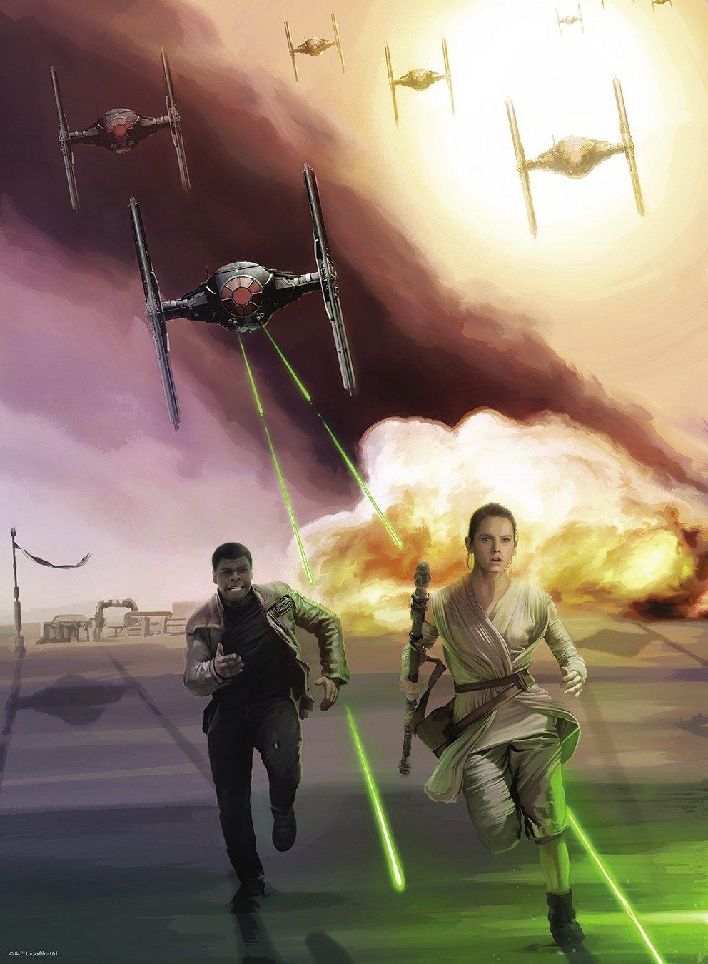 Puzzle Ravensburger Star Wars, El Lado Oscuro de 500 Piezas