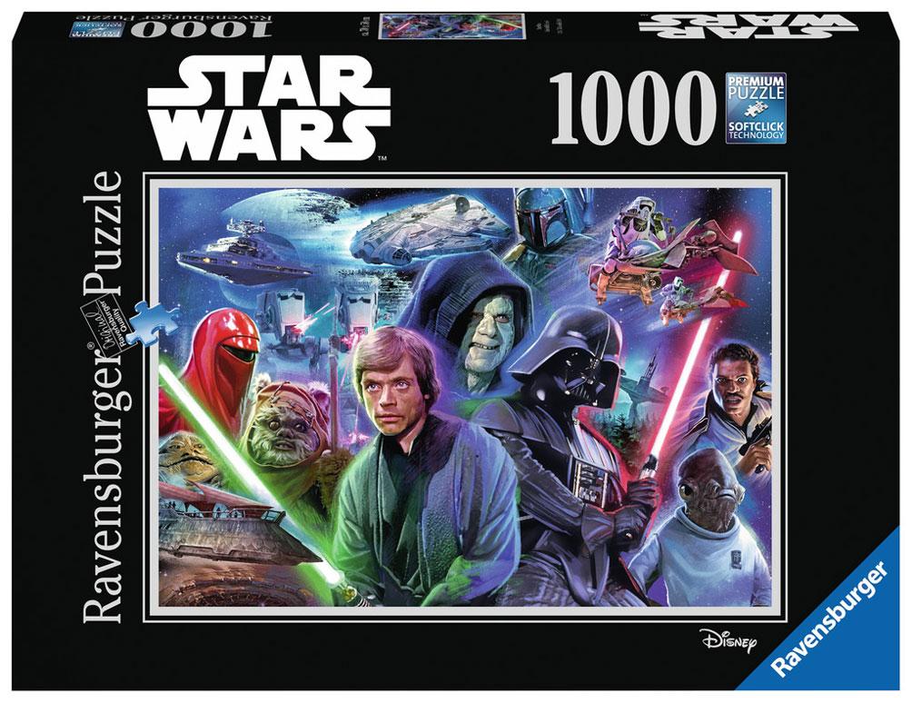 Puzzle Ravensburger Star Wars El Retorno del Jedi, 1000 Piezas