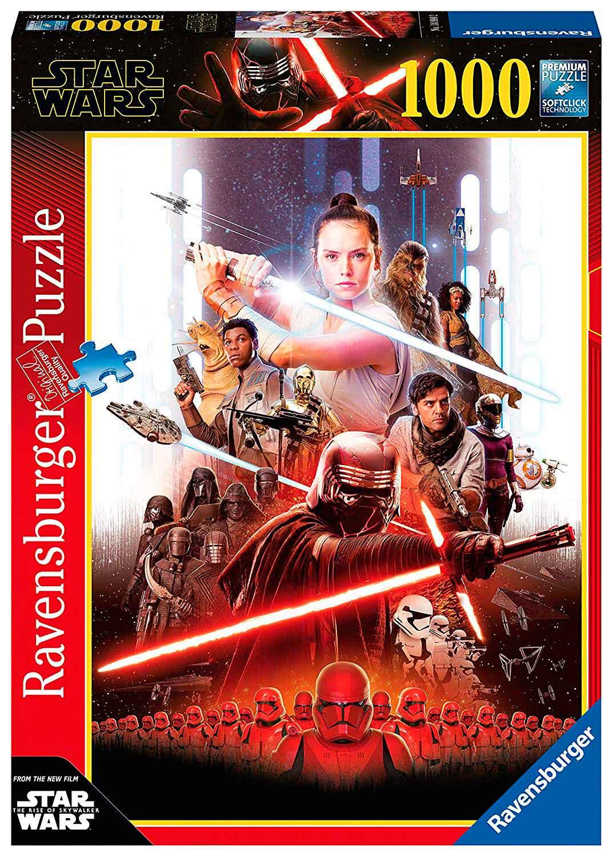 Puzzle Ravensburger Star Wars Episodio IX de 1000 Piezas