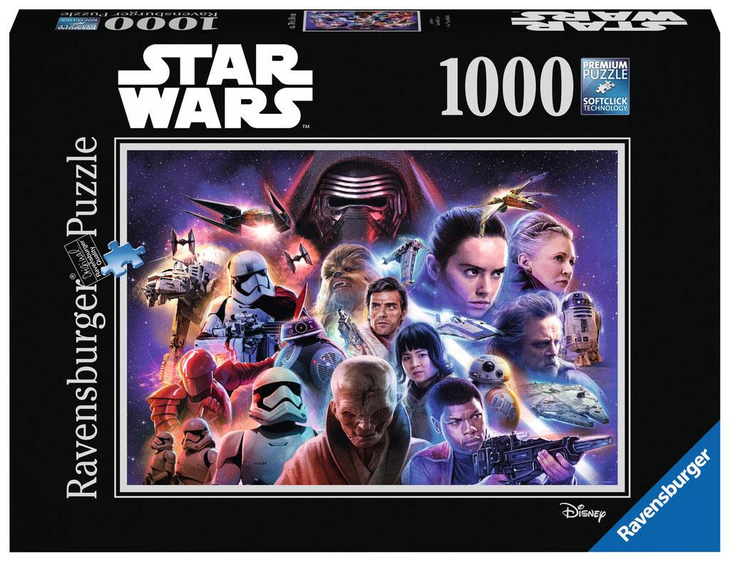 Puzzle Ravensburger Star Wars Los Últimos Jedi, 1000 Piezas