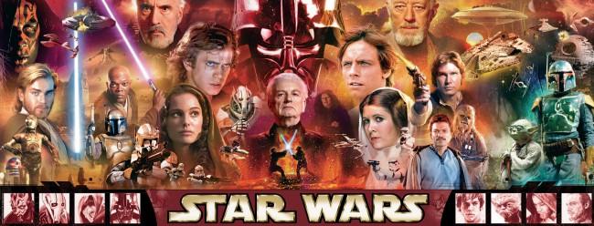 Puzzle Ravensburger Star Wars Panorama de 1000 Piezas