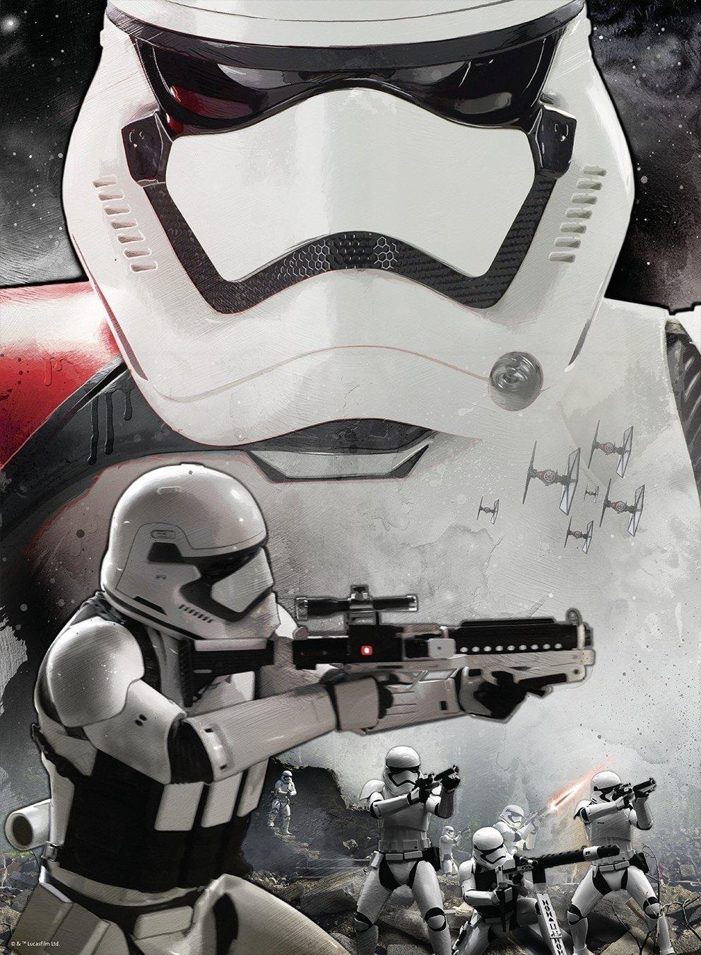 Puzzle Ravensburger Star Wars, Soldado de Asalto 300 Piezas